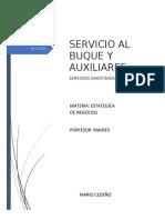 PROYECTO FINAL SERVICIO AL BUQUE MARIO CEDEÑO