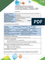 Guía de actividades y rúbrica de evaluación - Actividad 2 - Realizar Conceptualización teórica agricultura y ambiente