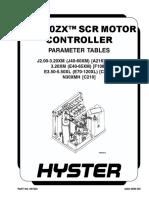 EV 100 CONTROL PARAMETERS-(08-2003)-US-EN