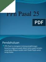 PPh_Pasal_25