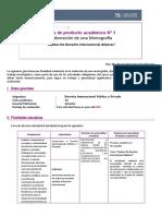 Guia de producto academico 1 Derecho Internacional