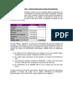 Ejercicio- Costo oportunidad con resol -UNLZ 2013