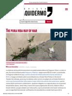 The pura vida way of war