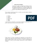 GESTION DE COCINA MONTAJES