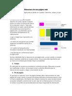 Estructura de una página web v2