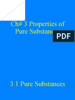 thermodynamics I Ch_3_Pure-Substance
