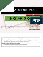 Planeacion Mayo 3er Grado 2019 2020-1