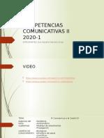 Competencias comunicativas covid-19