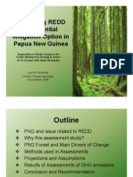 Assessing REDD as Potential Mitigation Option in Papua New Guinea
