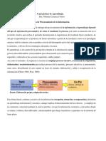 Teoría de procesamiento de la información 2020
