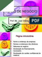 PLANO DE NEGÓCIO (Palestra)