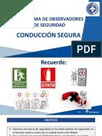 POS - CONDUCCIÓN SEGURA