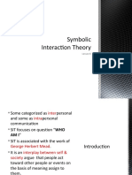 Lesson 3 Symbolic Interaction Theory