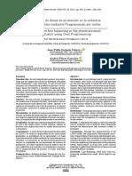 balanceo de lineas de produccion en la industria farmaceutica mediante programacion por metas