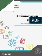 MANUAL DE COMUNICACIÓN EFECTIVA UNIDAD III y IV  DE LA PROFESORA.pdf
