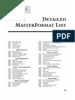 Master Format List.pdf