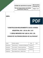 PLAN DE CALIDAD AV. ARGENTINA REV 00