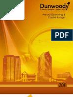 2011 Dunwoody Budget Book Final