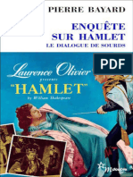 Pierre Bayard - Enquete sur Hamlet - Le dialogue de sourds