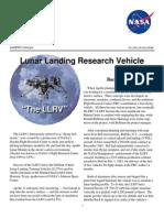 Lunar Landing Research Vehicle Fact Sheet