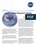 Lunar Landing Research Vehicle Fact Sheet