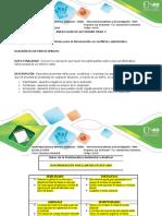 Anexo Actividad Paso 3.  educación ambiental