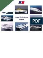 MTU Large High Speed Ferry