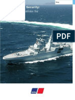 MTU Strength and Security - Propulsion Systems for Naval Vessel