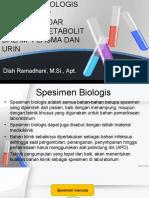 spesimen biologis
