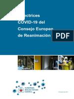 Directrices COVID19 de la ERC