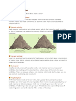 Causes of landslides, types and precations befor,during and after