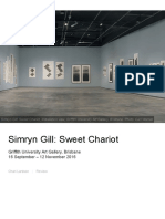 Larsson, C. 2016. Simryn Gill – Sweet Chariot