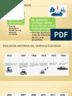 CARACTERÍSTICAS DE VEHÍCULOS ELÉCTRICOS