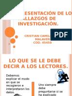 Presentación de los hallazgos de investigación..pptx