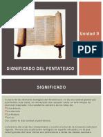 3D significado del pentateuco