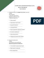 Soal Bahasa Jawa Kelas 4 Semester 2 Materi Basa Krama
