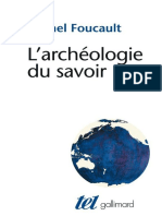 Michel Foucault - LArcheologie du savoir