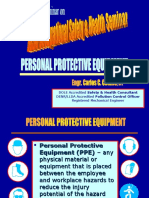 Topic C - PERSONAL PROTECTIVE EQUIPMENT