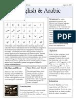 arabic v english newspaper