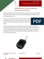 USB Enabled HF RFID Reader Writer