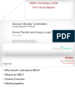 Acme PacketSession Border Controller.ppt