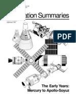 The Early Years Mercury to Apollo-Soyuz