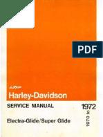 1972 Electra Glide Service Manual