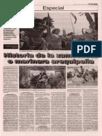 Historia de la Zamacueca o marinera arequipeña