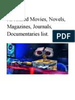 artificial intelligence list of movie , documentaries.pdf