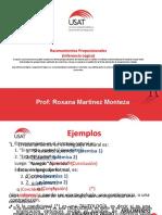 Razonamientos proposicionales (1)