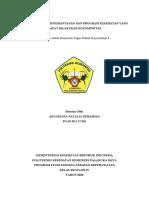 TARGET 6. RANCANGAN TEKNIS PEMANTUAN KESEHATAN DAN PROGRAM KESEHATAN YANG DAPAT DILAKUKAN DIKOMUNITAS (Anggelina ND).docx