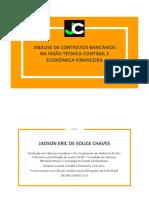 2 - E-BOOK - Análise de Contratos Bancários Na Visão Técnica Contábil e Economica Financeira