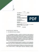 Dirección del Trabajo. Dictamen n° 1116/004. Fecha