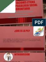 ORIENTACIONES CAMPO PSICOLOGIA SOCIAL COMUNITARIA